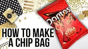 Design Your Own Potato Chip Bag How To Make A Chip Bag