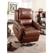 dark brown leather recliner chair. Furniture: Excellent Power Lift Recliners For Modern Interior Home Design Ideas \u2014 Mcgrecords.com Dark Brown Leather Recliner Chair