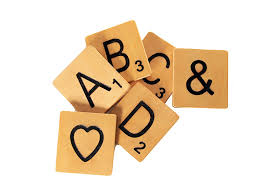 Scrabble Letter Wall Decor Amazoncom Large 5 Inch Scrabble Tile A Home Kitchen