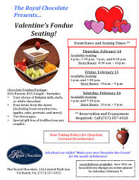 valentines day fondue virginia beach