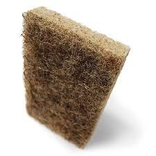 scotch brite greener clean natural fiber non scratch scrub sponge 2