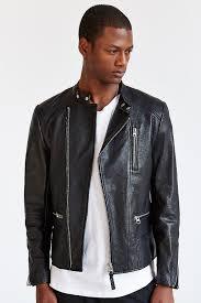 black leather biker jackets mackage ruben asymmetrical leather moto jacket