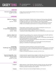 Resume for Casey Tong