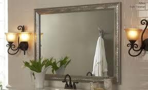 bathroom mirror frame tile. Bathroom Mirror Frame Ideas Tile