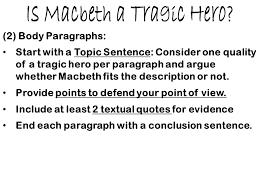 literary analysis the tragedy of macbeth ppt video online  is macbeth a tragic hero
