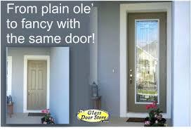 entry door window inserts glass insert kit exterior garage plastic installation