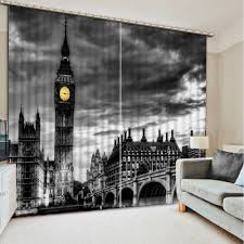 Black Patterned Curtains Awesome Decorating Design