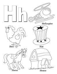 Letter H Worksheets Preschool Worksheets for all | Download and ...