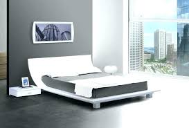 low profile bed frame king