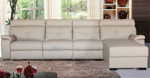 orlando 4 seater with right sided chaise in latte leather