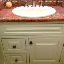 Refinish Bathroom Countertop Cabinet Painting Refinishing Restoration Services Craftpro