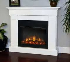 slim white electric fireplace by real flame hillcrest reviews review