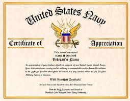 Military Certificate Of Appreciation Template Amazing Free Veterans Day Certificate Templates Feedscast