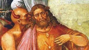 Картинки по запросу христос и дьявол