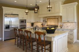 kitchen lighting rustic pendant lighting kitchen square clear bamboo white backsplash flooring countertops islands