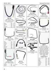 Illustrated parts guide wire cable illustrated parts guide 2017 page 58
