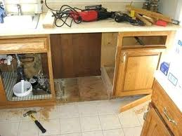 installing dishwasher in existing cabinets concepts of attaching to granite countertop installation ex