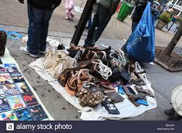 Flea Market Designer Handbags Fake Bags Stock Photos Fake Bags Stock Images Alamy