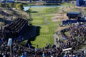 Ryder Cup Seating Chart Ryder Cup First Tee Shot Brings Out Nerves In All Even