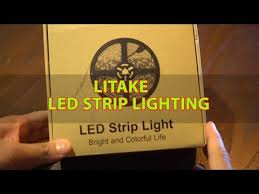 graphic home theater lighting. cheap home theater lighting litake led strip quick unboxing review graphic