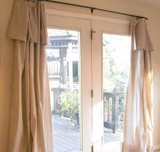 curtain rod that doesnt need center support medium size of patio door curtains grommet top sliding patio door curtain rod