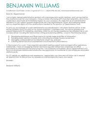 Admin Assistant Cover Letter Musiccityspiritsandcocktail Com