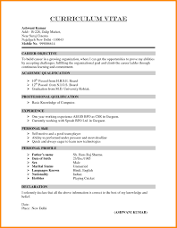 resume simple example 10 curriculum vitae simple example odr2017