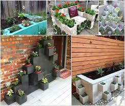 painting cinder blocks for garden painting cinder block garden