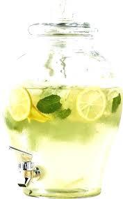 beverage dispenser with metal spigot crystal beverage dispenser crystal beverage dispenser best glass beverage dispenser with