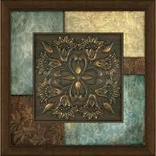 9 square metal wall art