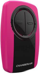 chamberlain er klik3u pk pink universal garage door remote