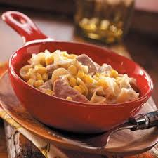 Diced leftover lamb or roast pork are some other excellent alternatives, along with beef or pork gravy. Pork Noodle Casserole With Corn Recipe How To Make It Taste Of Home