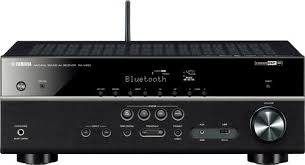 home theater yamaha. yamaha 5.1-ch. network-ready 4k ultra hd and 3d pass-through a/v home theater receiver black rx-v483bl - best buy a
