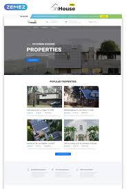Free Website Template Real Estate Website Template