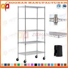 office racking system. Adjustable House Office Storage Wire Shelving System With Wheels (Zhw64) Racking