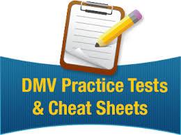 california dmv cheat sheet arizona practice tests online information