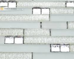 white glass tile shower diamond glass mosaic wall tiles in mosaic shower tiles white glass mixed