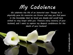 My Condolences Quotes