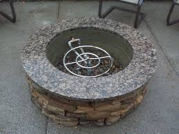 natural gas fire pit kit kits diy casual design good regarding prepare 6