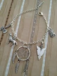 Dream Catcher Charm Bracelet Adorable I Found 'Dream Of Wolves Dreamcatcher Charm Bracelet Deluxe' On