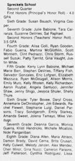 20 Feb 1987 Rachel Flewell Spreckels Honor Roll - Newspapers.com