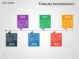5 year timeline template timeline infographics templates for powerpoint salary slip