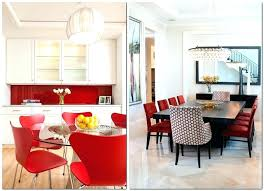 excellent kitchen accent table red dining chairs 4 red dining chairs accent table in kitchen