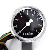 electronic tachometer black interface for harley davidson and mini electronic tachometer black interface for harley davidson and custom motorcycles