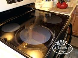 cleaning glass top stove glass stove top cleaner using baking powder to clean stove top plus