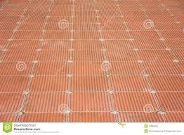Brick Patterns For Patios Patio Of Clay Brick Tile Floor Stock Photo Image 41669646