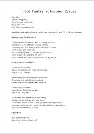 Resume With Volunteer Experience Template Kantosanpo Com