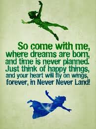 Happy Dreams Quotes Best of Peter Pan Quotes Sayings Happy Dreams