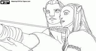 Small Picture Avatar Coloring Pages blue avatar coloring pages Kids Coloring Pages