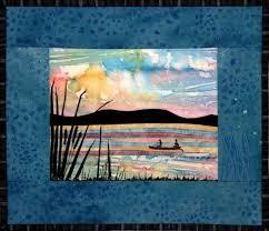 41 best Accidental Landscape Quilts images on Pinterest | Beach ... & lake 5 s.jpg (102341 bytes). Fabric CardsFabric PostcardsArt QuiltingQuilt  ArtLandscape ... Adamdwight.com